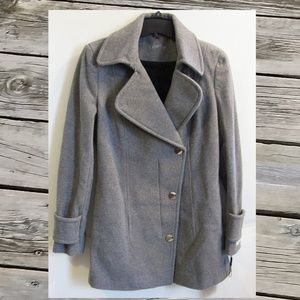 Calvin Klein Wool Blend Jacket Gray Size 4 or 6